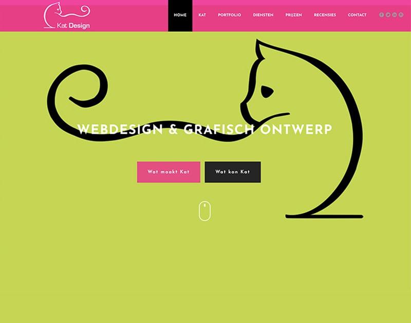 website van Kat Design