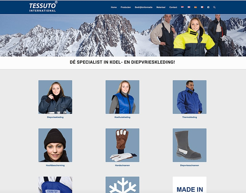 website van Tessuto
